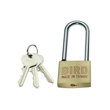 BIRD中長鉤型銅鎖 #122L (30 mm)