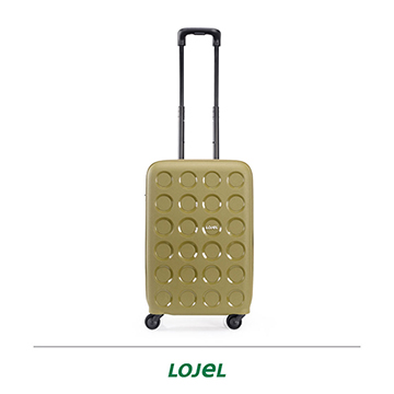 LOJEL VITA PP10 硬殼 雙層防盜拉鍊 登機箱 行李箱 22吋 橄欖綠