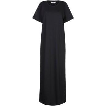 《セール開催中》SH by SILVIAN HEACH レディース ロングワンピース&ドレス ブラック XS コットン 100%