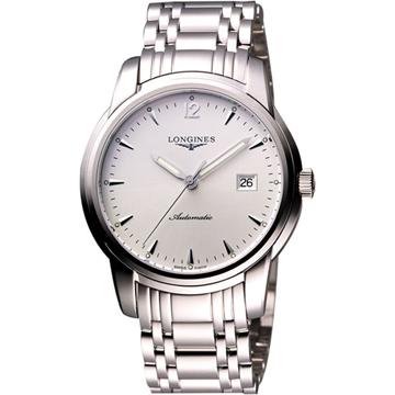LONGINES 浪琴 Saint-Imier 經典復刻腕錶 銀 39mm L27664726
