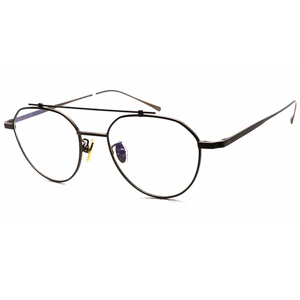 【NINE ACCORD】韓國設計 復古懷舊新時尚 光學眼鏡鏡框 TI TINO C3 48mm