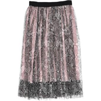 《セール開催中》VANESSA SCOTT レディース 7分丈スカート ピンク one size ポリエステル 70% / レーヨン 28% / ポリウレタン 2%