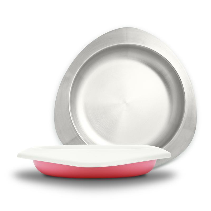 Soufflé 抗菌不鏽鋼餐盤 -五色 Soufflé 抗菌不鏽鋼餐盤  - 薰衣草紫