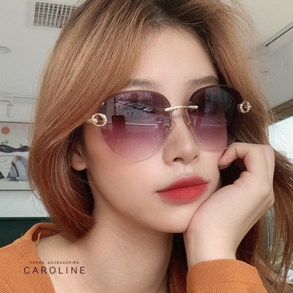 韓系質感熱門款網紅潮流無框ins太陽眼鏡71757