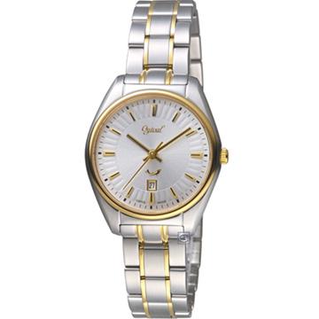 Ogival 愛其華 知性韻調時尚腕錶 350-01LSK