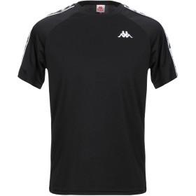 《セール開催中》KAPPA メンズ T シャツ ブラック XS ポリエステル 100%