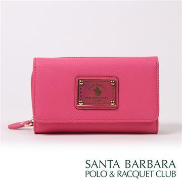 SANTA BARBARA POLO & RACQUET CLUB - 幸福微糖三折中夾(玫紅色)