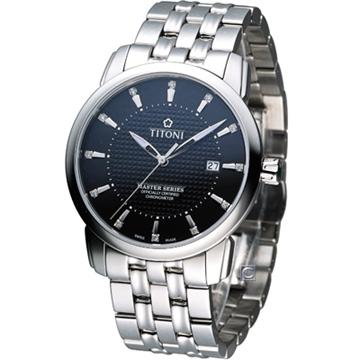 83788S-392 梅花錶 TITONI Master Series 天文台認證機械腕錶