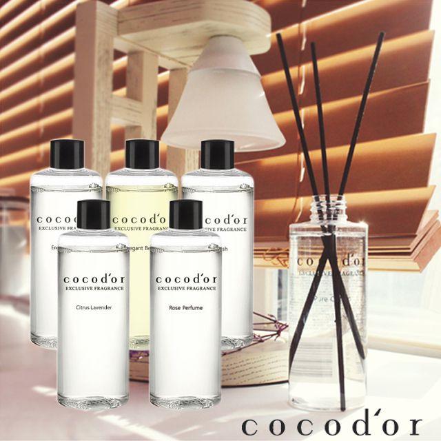 韓國 Cocodor 室內擴香補充瓶-白茉莉 200mL