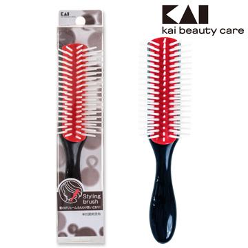日本貝印復古抗菌髮梳(S) HL-0001