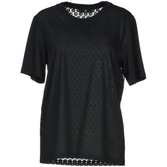 《セール開催中》PS PAUL SMITH レディース T シャツ ブラック L コットン 100% / ナイロン