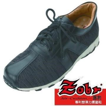 ZOBR路豹 NEW運動式厚鞋底款 男真皮休閒鞋DD267
