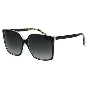FENDI 時尚造型太陽眼鏡 (黑色)FF0076FS