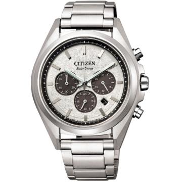 CITIZEN星辰 光動能超級鈦計時手錶/CA4390-55A