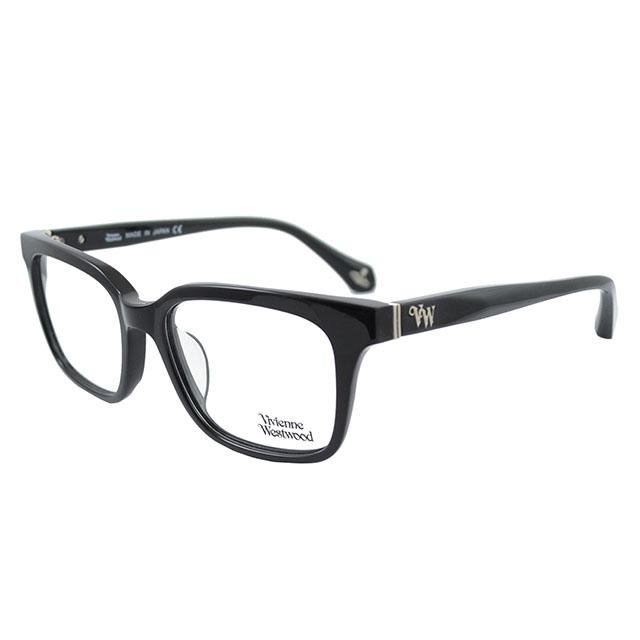 【Vivienne Westwood】英國薇薇安魏斯伍德●VW標誌光學眼鏡(黑) VW356-01