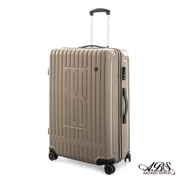 ABS愛貝斯 29吋拉鍊硬殼行李箱  香檳金 99-056A