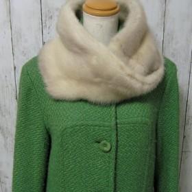 ¶ new antique fur ¶ ヴァイオレットミンクファーnejiriスヌード「varia」再販