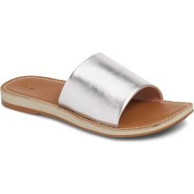 [オルカイ] シューズ サンダル Nohie 'Olu Slide Sandal (Women) Silver/Ta レディース [並行輸入品]