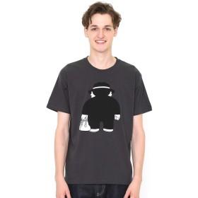 (グラニフ) graniph コラボレーション Tシャツ 後ろ姿 (笑ゥせぇるすまん) (スミクロ) メンズ レディース M (g01) (g14)