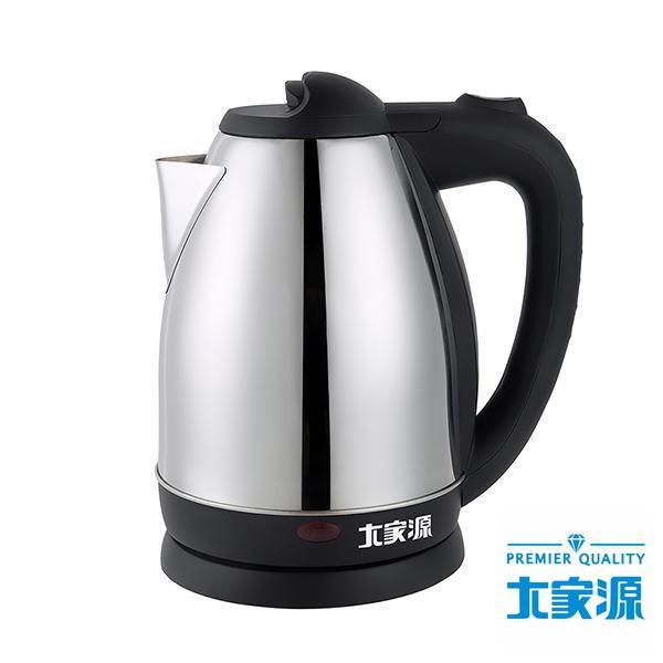 大家源 1.8公升 304全不鏽鋼 快煮壺 / 電茶壺 TCY-2608