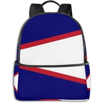 アメリカ領サモアの旗 リュック バックパックリュックサック 大容量 PCバッグ レジャーバッグ 旅行カバン 登山リュック ビジネスリュック ユニセックス おしゃれ 人気