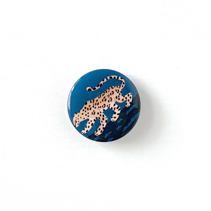 胸章-用望遠鏡來safari - 花豹