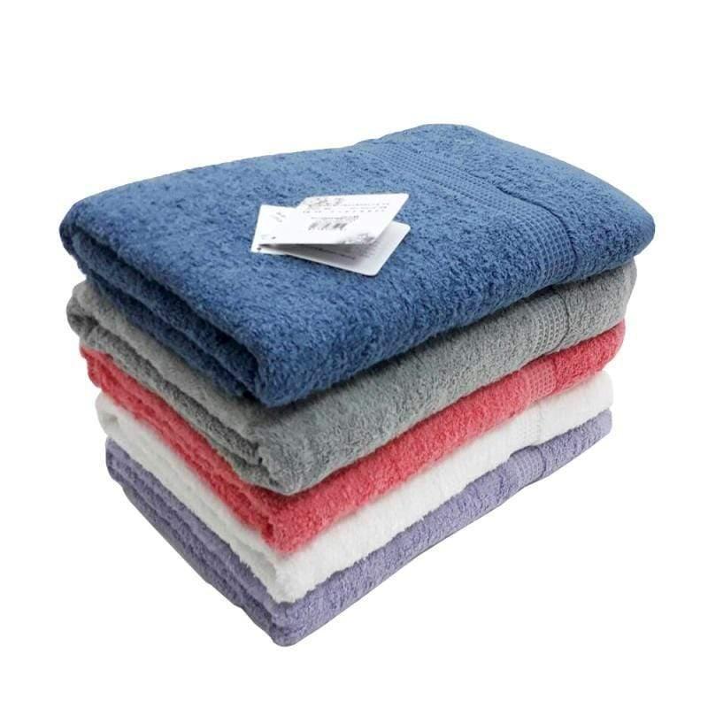 有機棉歐色蓬鬆浴毛方巾禮盒組 灰色