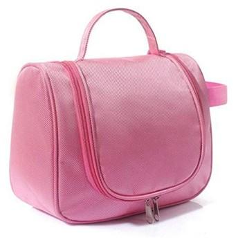 Portable Makeup Bag LLP大容量化粧品ウォッシュバッグ(マゼンタ) (色 : Color1)