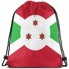 ブルガンディの旗巾着袋ジムダンスバックパックショルダーバッグギフト36 x 43 cm