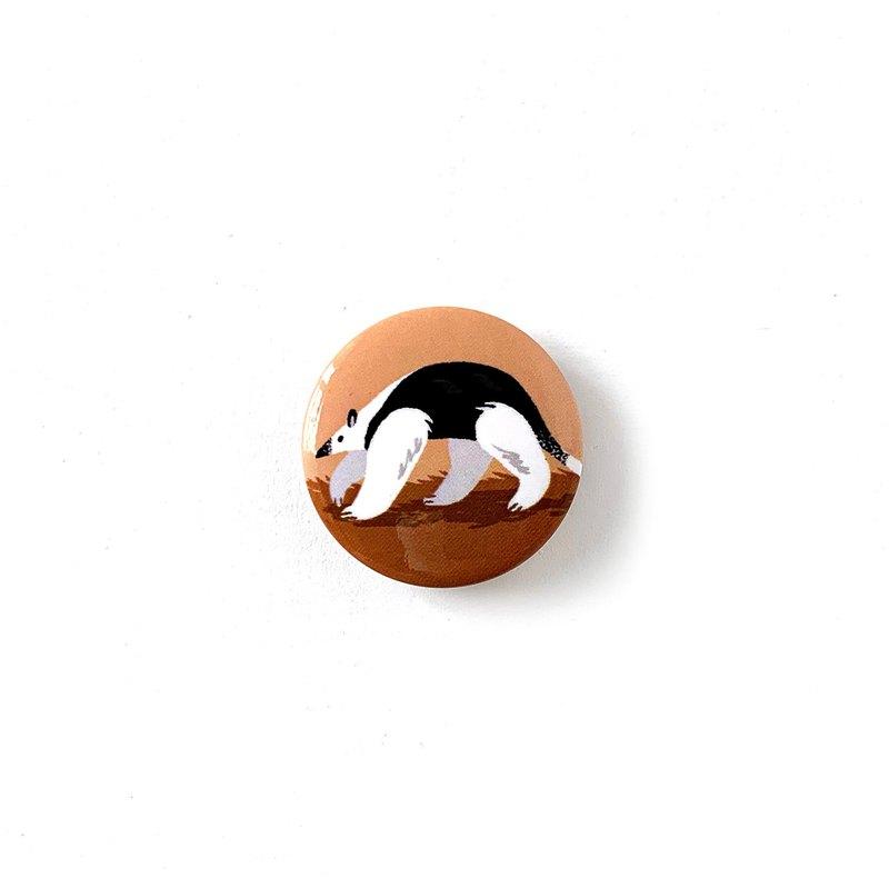 胸章-用望遠鏡來safari - 食蟻獸