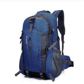 TOLYMOMO 登山リュック 大容量 リュックサック バックパック 登山ザック 多機能リュック アウトドア登山バックパック旅行バッグ ハイキングバッグ 登山用品 スポーツリュックサック 収納性抜群 通気性 男女兼用 (DarkBlue)