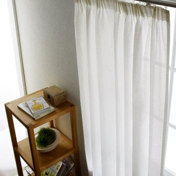 UVカット・遮熱・ミラー2WAY小窓カーテン 「ホワイト」