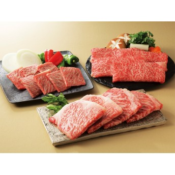 「金剛閣」米沢牛3種食べ比べセット