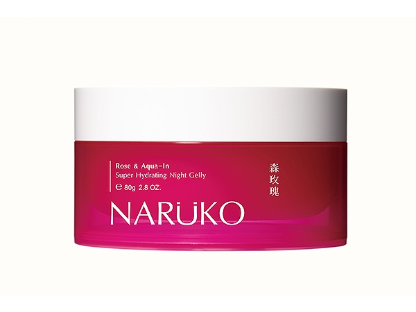 NARUKO~森玫瑰超水感保濕晚安凍膜(80g)【D268198】
