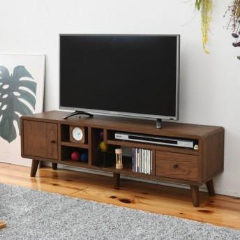 テレビ台 幅110cm 木目 ブラウン (FAP-0034-BR) pico テレビボード TV リビング 収納
