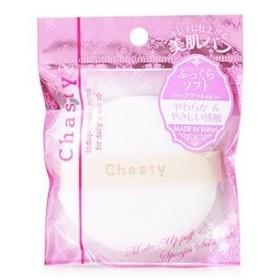 チャスティ パウダーパフ CA コットンタイプ (1個) 粉おしろい用 コットンタイプ メイクパフ 化粧小物