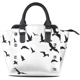 ハンドバッグ レディース 鳥 動物 斜め掛け 小さめ 通勤 お出かけ ビジネス 旅行 PUレザー ショルダーバッグ 防水 2way 耐久性 大容量
