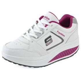 [Bopoli] レディーズ サンダル Sport ブーツ High Top ファッション 女 Thick Rubber Sole カジュアルl ブーツ Female Height Increasing プラットフォーム Sneakers