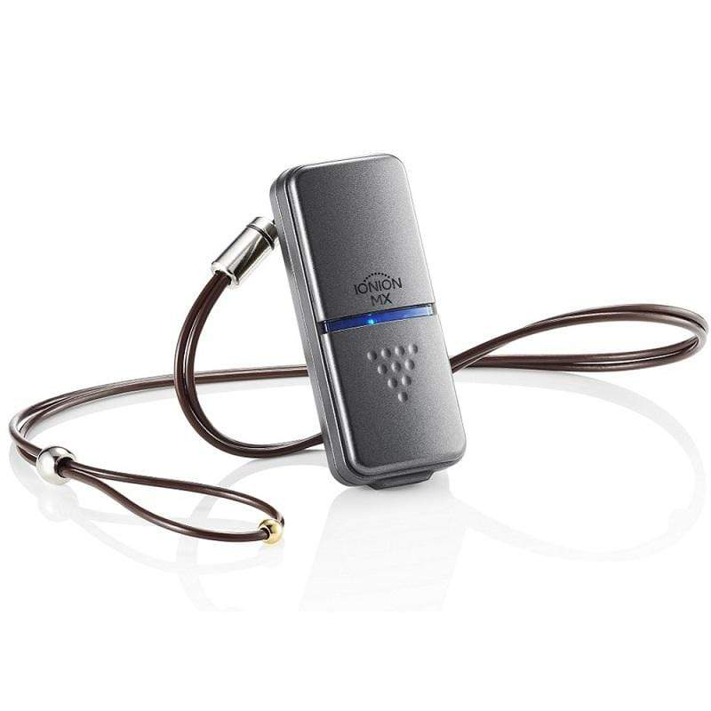 MX 升級款 超輕量隨身空氣清淨機 星曜灰+原廠專用吊飾鍊 兒童吊飾鍊-鵝絨黃m-28cm