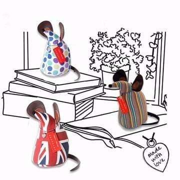Monica Richards London 動物造型紙鎮 - 老鼠 a.經典條紋