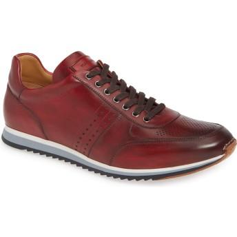 [Magnanni] シューズ スニーカー Marlow Water Resistant Sneaker Tinto Red メンズ [並行輸入品]