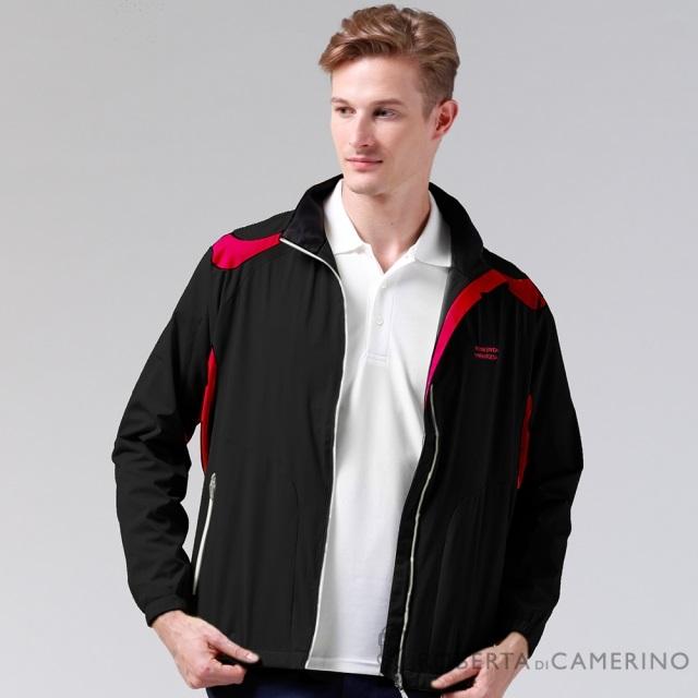 ROBERTA諾貝達 輕薄休閒防潑水夾克外套ROD93G-99黑色