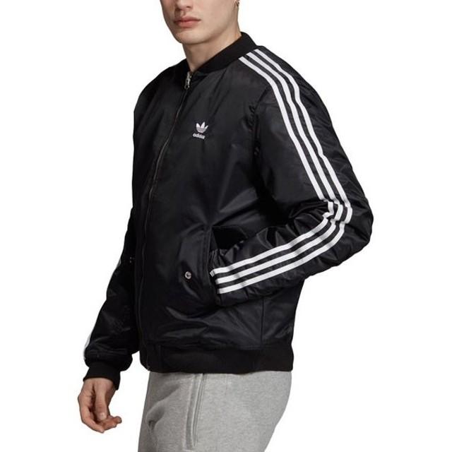 アディダスオリジナルス adidas Originals メンズ ブルゾン ボンバー パデッド ジャケット BOMBER PADDED JACKET ブラック系 GDB26 ED5825 FW19Q4
