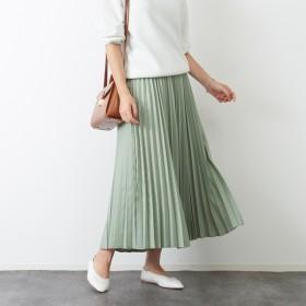 [マルイ] ドビーシャンブレープリーツスカート【予約】/ルージュ・ヴィフ ラクレ(Rouge vif la cle)