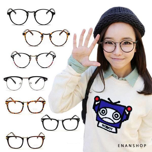 復古平光眼鏡 多款任選 觸及真心 劉仁娜同款 眼鏡 黑框眼鏡 惡南宅急店【0029S】