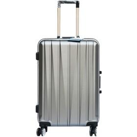 男性と女性のためのトロリーボックス、普遍的なホイールスーツケース、海外発送用バッグ、ツールキット、アルミフレーム荷物、-grey-S