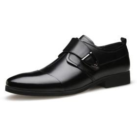 [LHWY] ビジネスシューズ 革靴 メンズ クラシック ポインテッド カジュアル シューズ ローシューズ