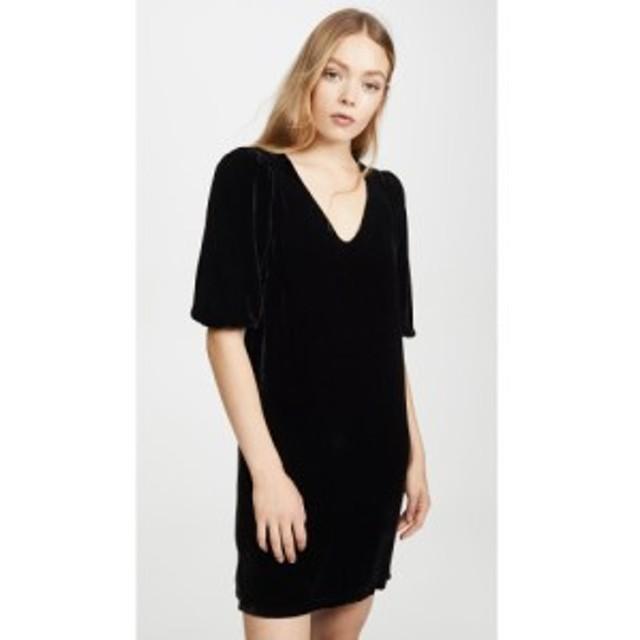ベルベット グラハムandスペンサー Velvet レディース ワンピース ワンピース・ドレス carissa dress Black