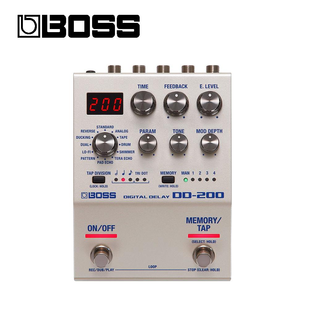 BOSS DD-200 數位延遲效果器【敦煌樂器】