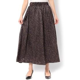 【テチチ/Te chichi】 起毛サテンギャザースカート